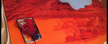 monument-valley-mural-garage-art-arizona
