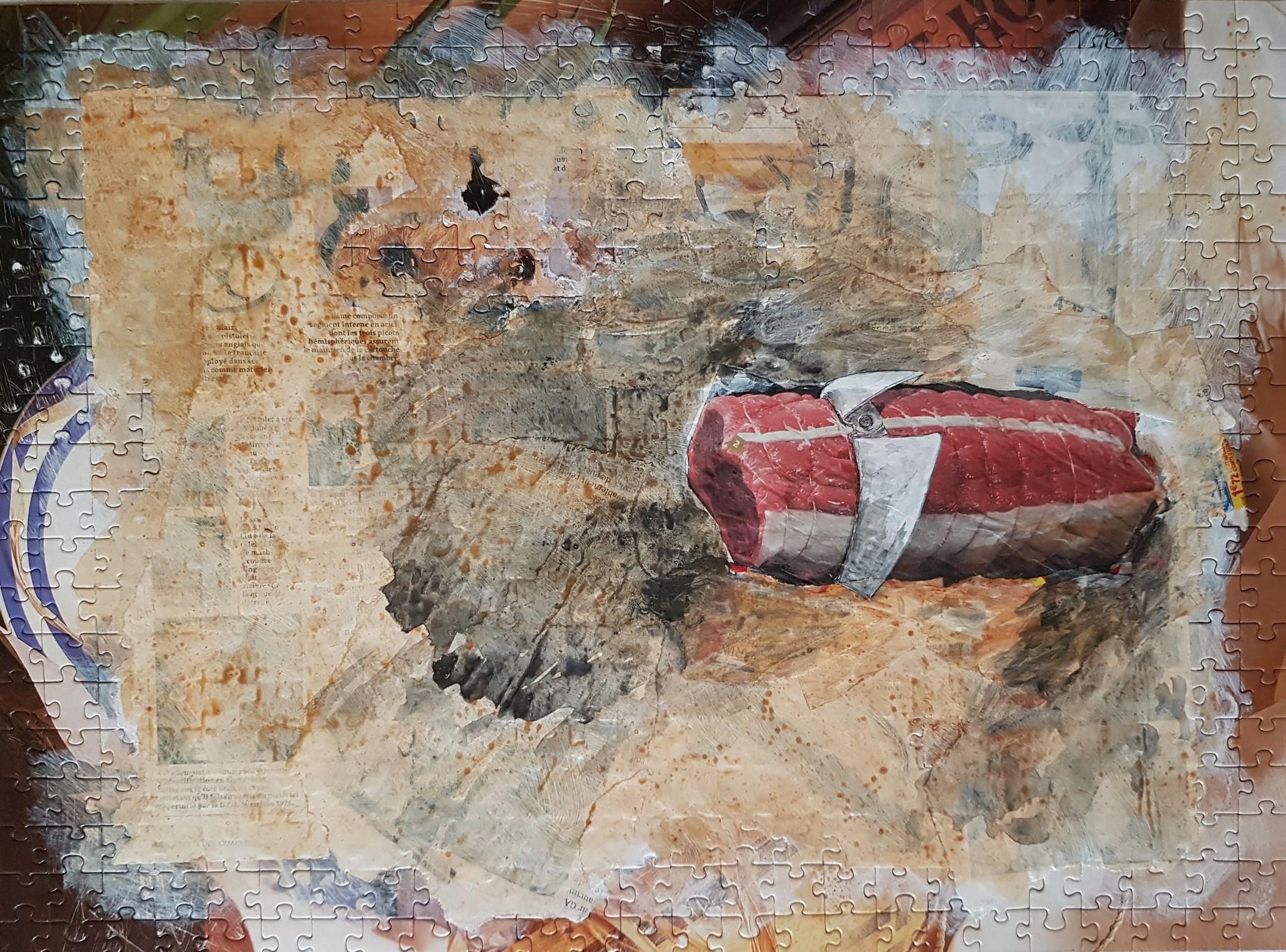 Portrait : Boeuf au col