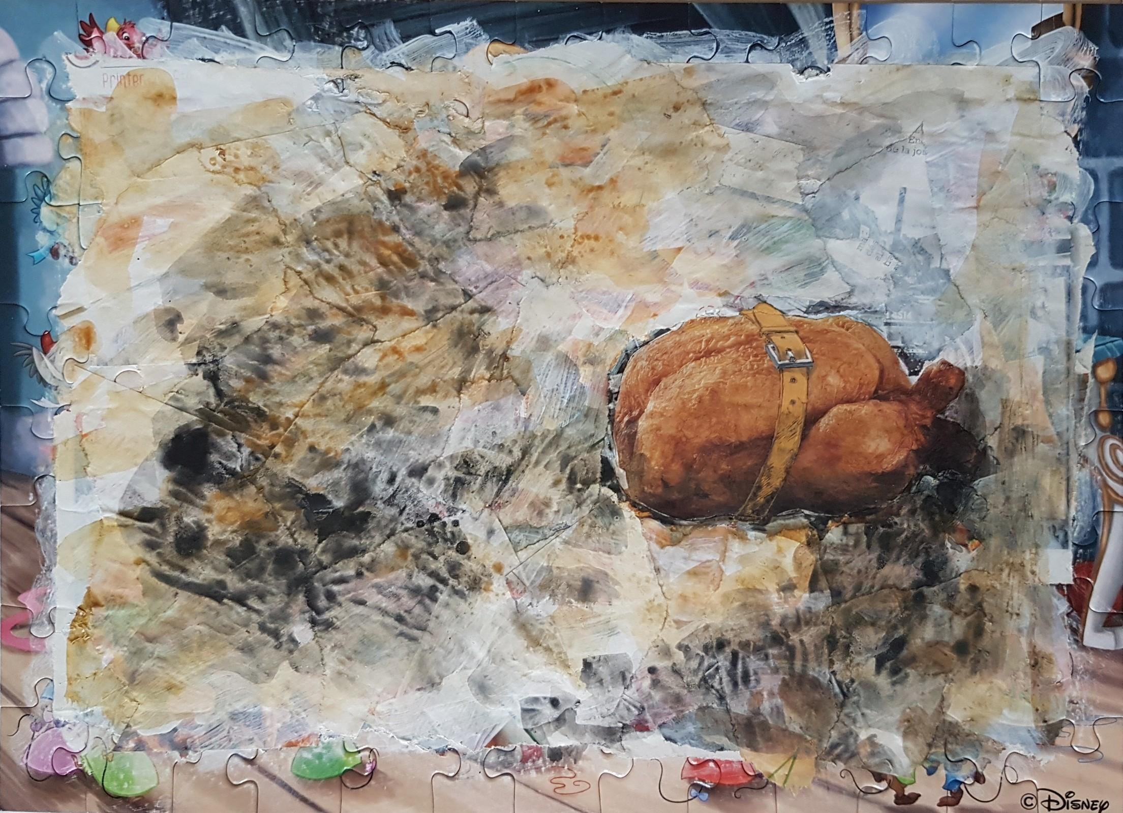 Portrait : Poulet rôti à la ceinture