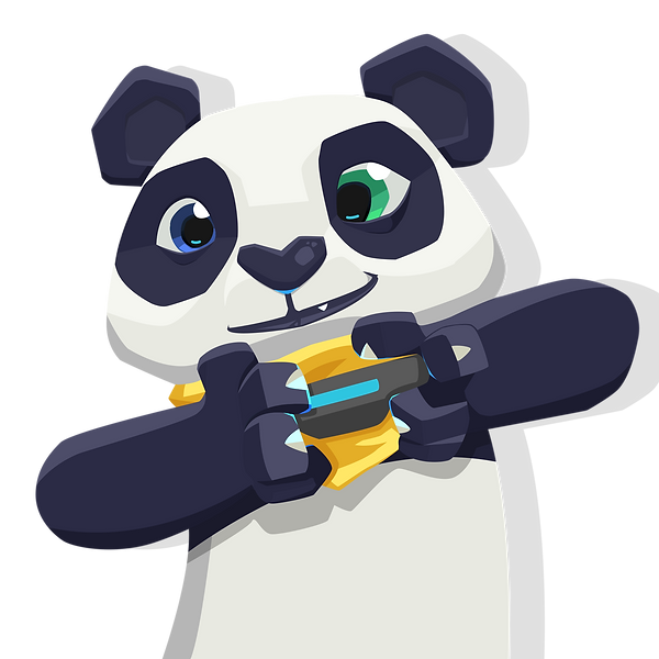 Yellow Panda Games Mascote