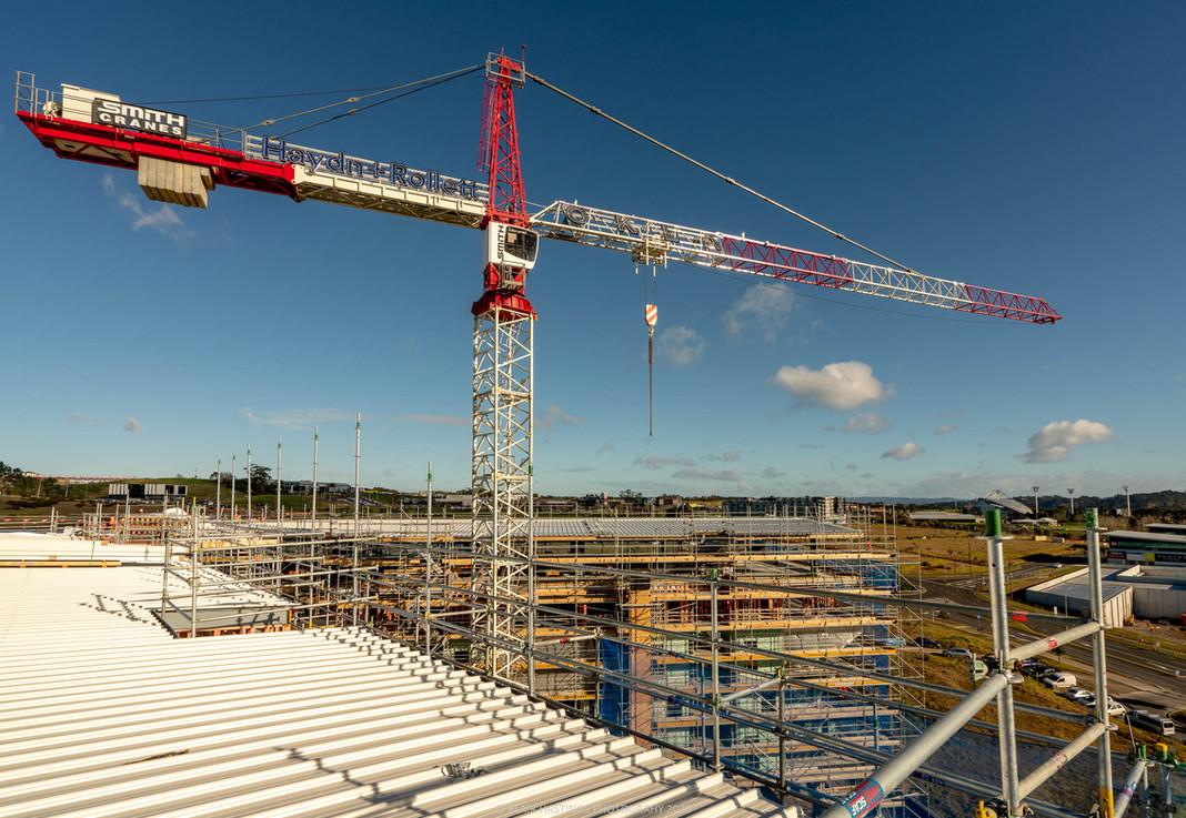CONSTRUCTION - RESIDENTIAL - CRANE