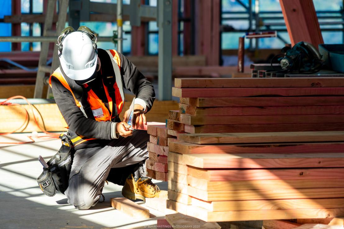 CONSTRUCTION - TIMBER - CARPENTER