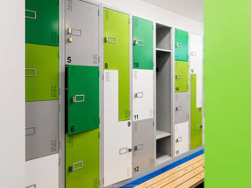 GYM - LOCKERS - GREEN