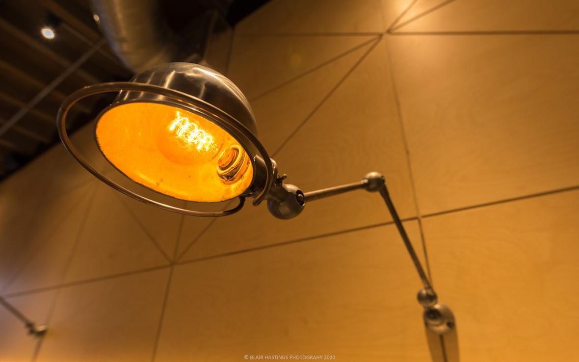 LAMP - STEEL - PANELLING