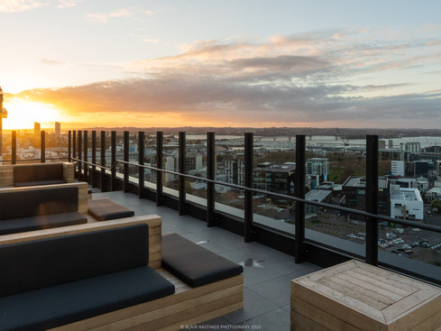 ROOFTOP - SEATING - EVENING