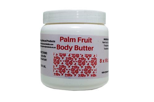 Palm Fruit Vit E Body Butter (500 ml)