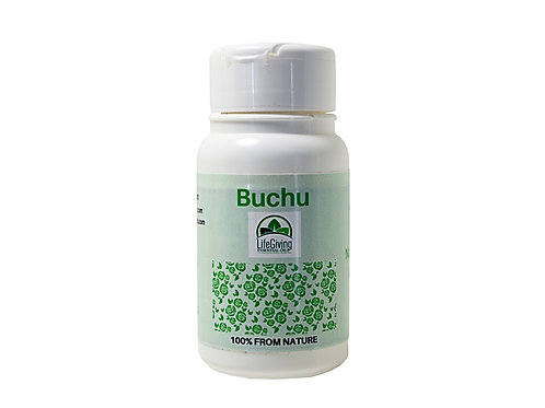 Buchu Natural Diuretic (60 caps)