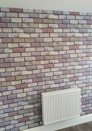 3D Effect Brick Wallpaper