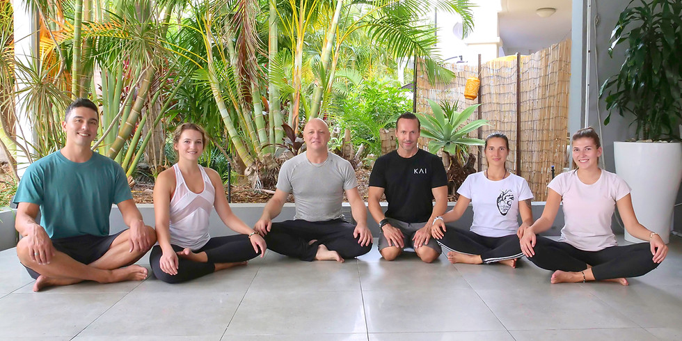 Rudy's Real Yoga & Meditation Vinyasa       Chakra Flow Workshop Series.