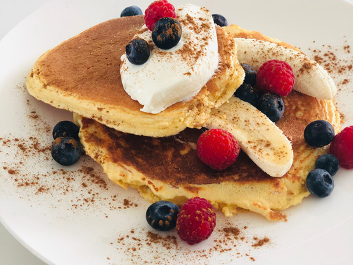 Rudy's real food Protein pancake