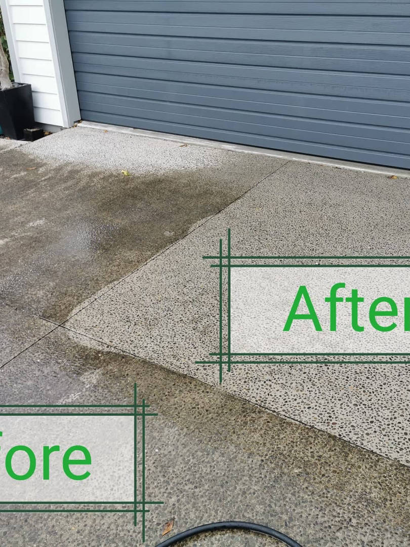 Cleanse Right Ltd Concrete Clean in Karaka