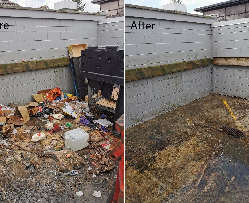 Cleanse Right Ltd Bin Clean - Mount Wellington