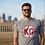 Thumbnail: KC Monarchs Baseball Tee - Grey