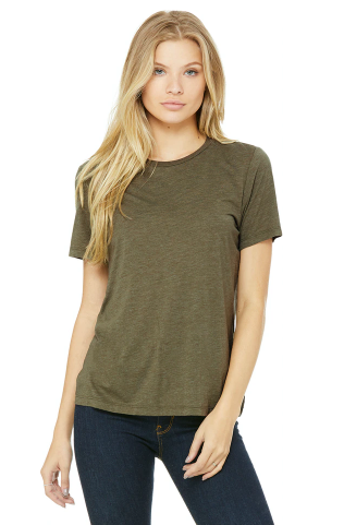 BELLA + CANVAS - Women's Relaxed Fit Triblend Tee - 6413
