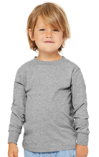 BELLA + CANVAS - Toddler Jersey Long Sleeve Tee - 3501T