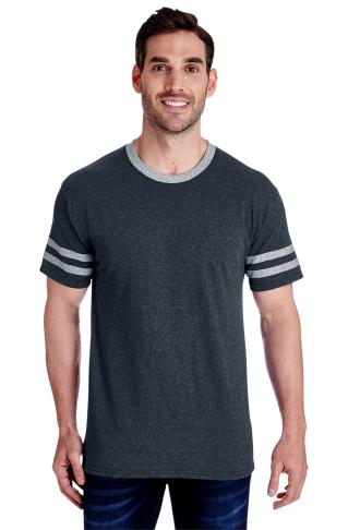 JERZEES - Triblend Varsity Ringer T-Shirt - 602MR