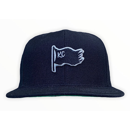 BLAKC FLAG HAT