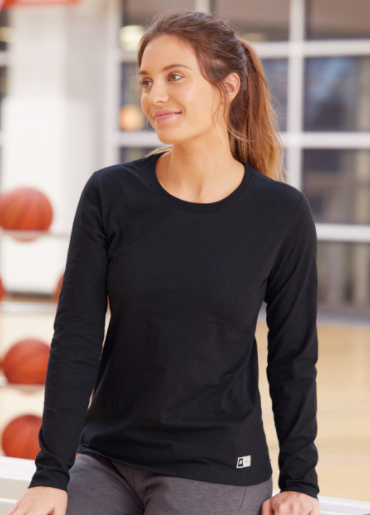 Russell Athletic - Women's Essential 60/40 Performance Long Sleeve T-Shirt - 64L