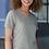 Thumbnail: Adidas - Women's Mèlange Tech V-Neck T-Shirt - A373