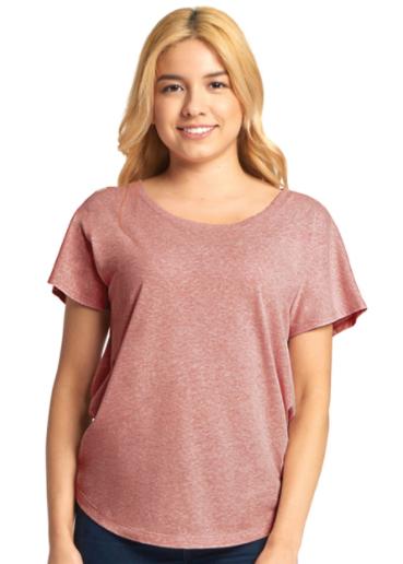 Next Level - Women's Triblend Short Sleeve Dolman - 6760
