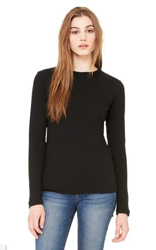BELLA + CANVAS - Women's Jersey Long Sleeve Tee - 6500
