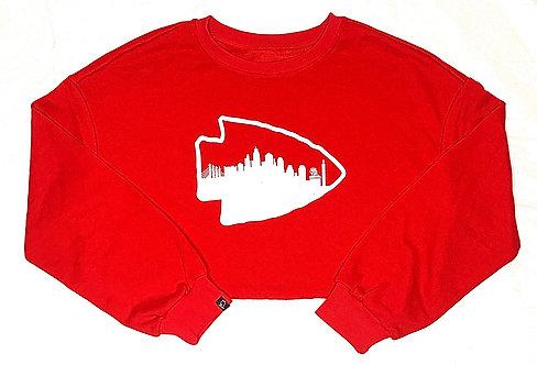 Arrowhead Skyline 2.0 - Crop Top Sweatshirt