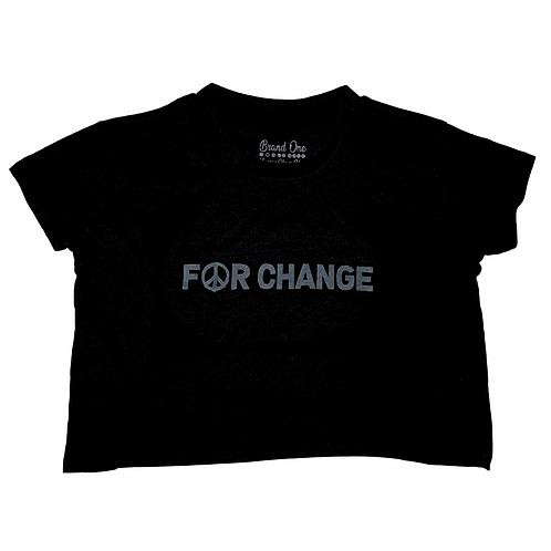 For Change - WMNS Crop Top