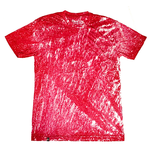 Bleach Washed - Red