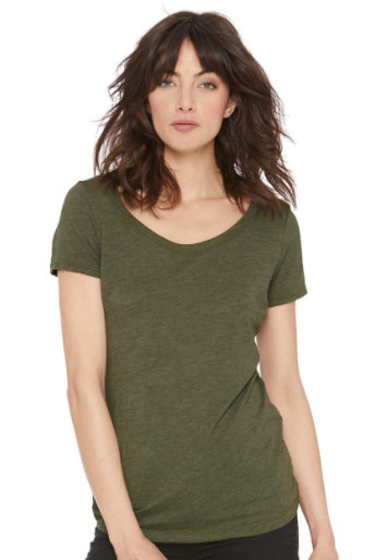 Next Level - Women's Triblend Short Sleeve Scoop - 6730