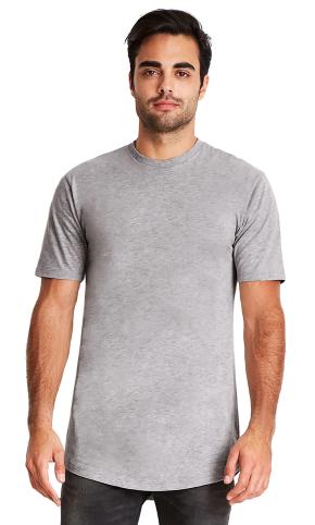 Next Level - Cotton Long Body Short Sleeve Crew - 3602