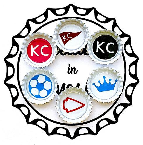 Kansas City Magnet Pack - Set of 6