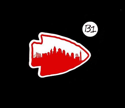 Arrowhead Skyline - Sticker