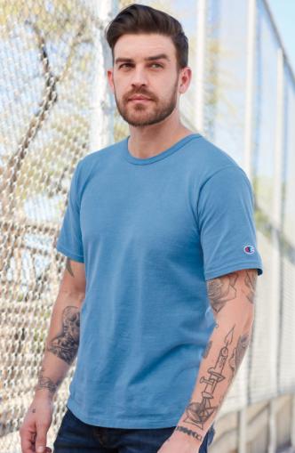 Champion - Garment Dyed Short Sleeve T-Shirt - CD100