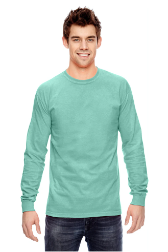 Comfort Colors - Garment-Dyed Heavyweight Long Sleeve T-Shirt - 6014