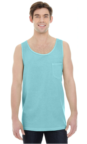 Comfort Colors - Garment-Dyed Heavyweight Pocket Tank Top - 9330