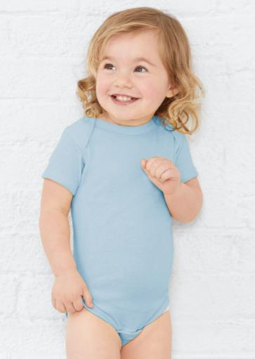 Rabbit Skins - Infant Baby Rib Bodysuit - 4400