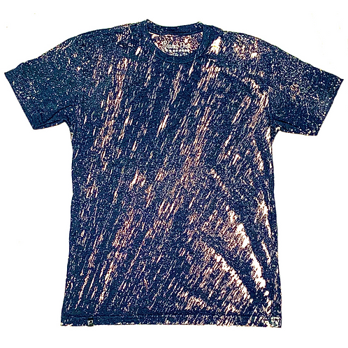 Bleach Washed -Navy Blue