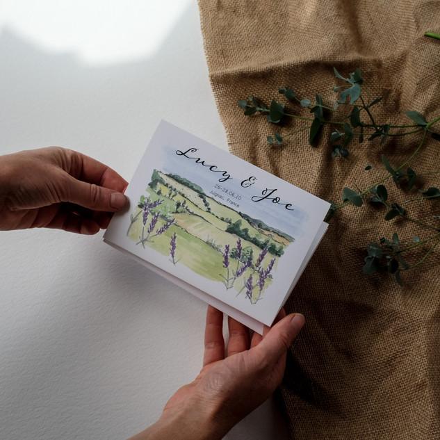 Illustrated-folding-wedding-invite-sarah