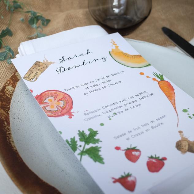 Watercolour-illustrated-menu-sarah-dowli