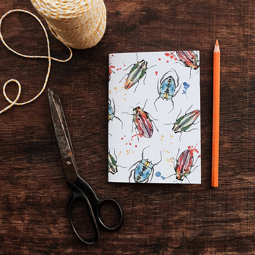 A6 Beetle Notebook