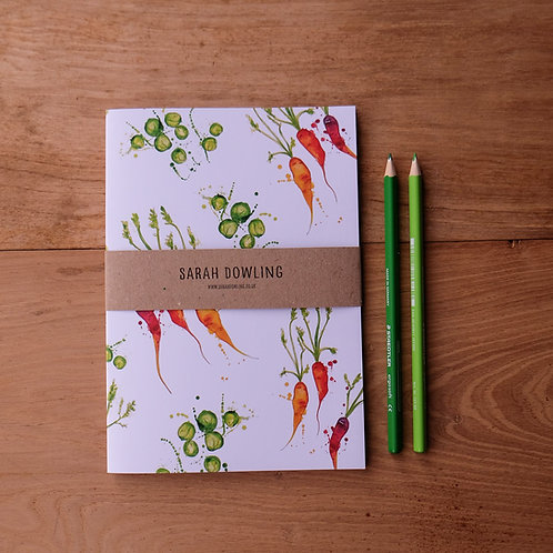 Vegetable Notebook