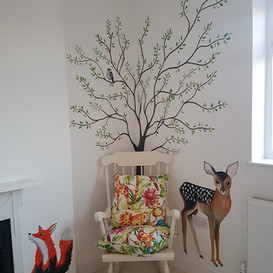 nursey-mural-design-forest-sarah-dowling