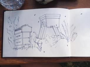 bee-hive-sketchs-sarah-dowling-bristol-i