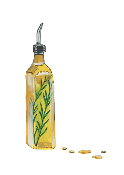 olive-oil-with-rosemary-gouache-painting-sarah-dowling-bristol-food-illustrator.png