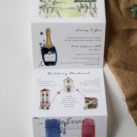 Folding-watercolour-wedding-invite-sarah