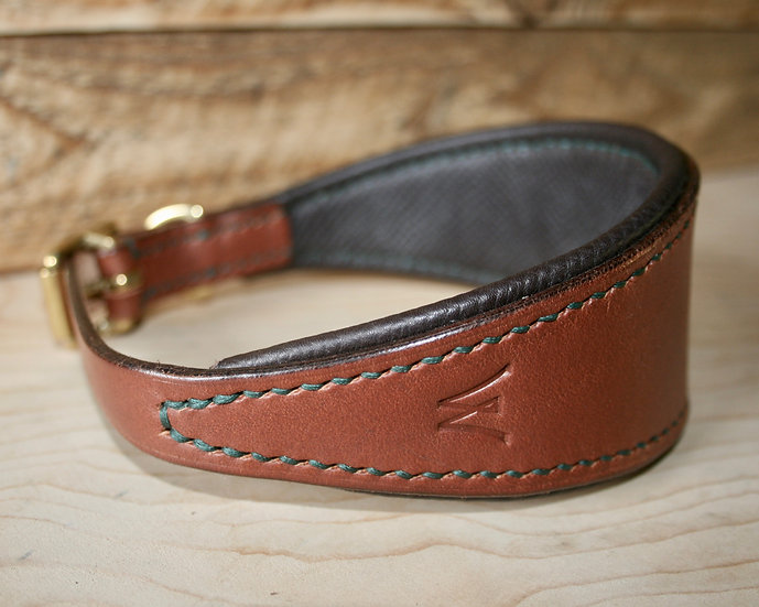 Padded Hound Collar   (to order)