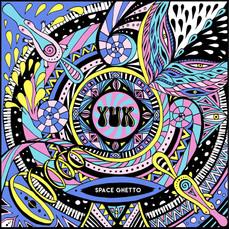 Yuk Space Ghetto EP Cover Illustration
