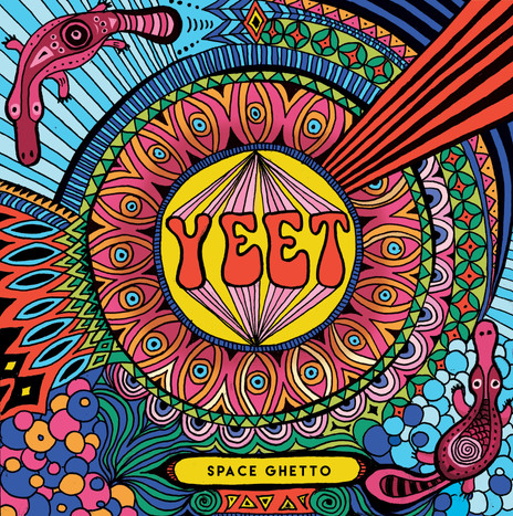 Yeet Space Ghetto EP Cover Illustration