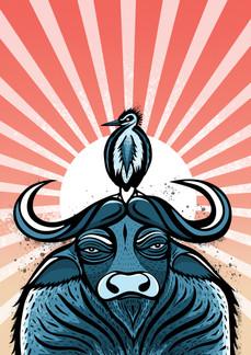 Vietnamese Water Buffalo Art Print