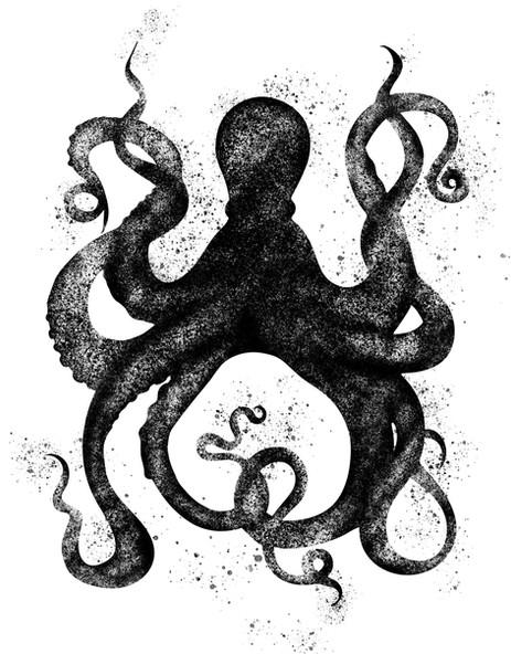 Japanese Octopus Art Print